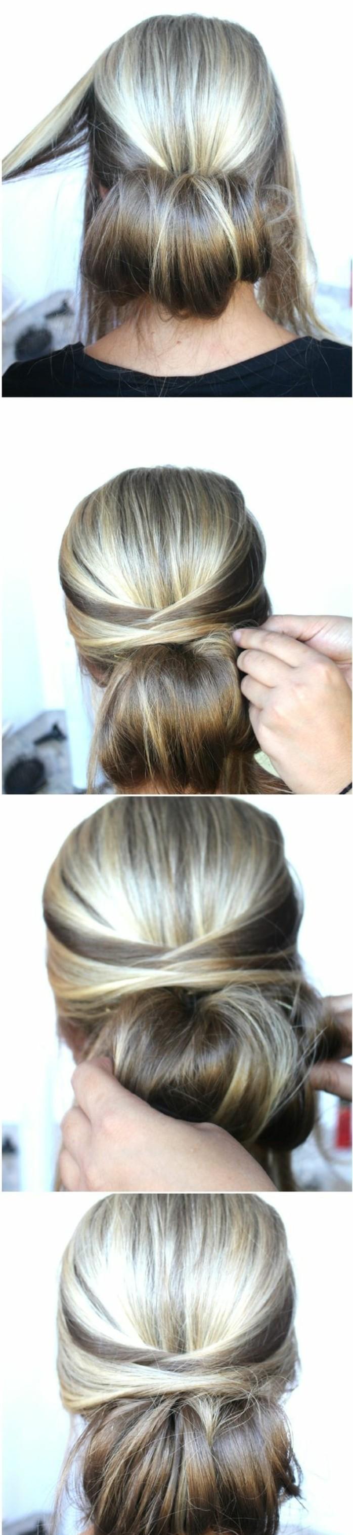 chignon-facile-idee-coiffure-romantique-allure-vintage