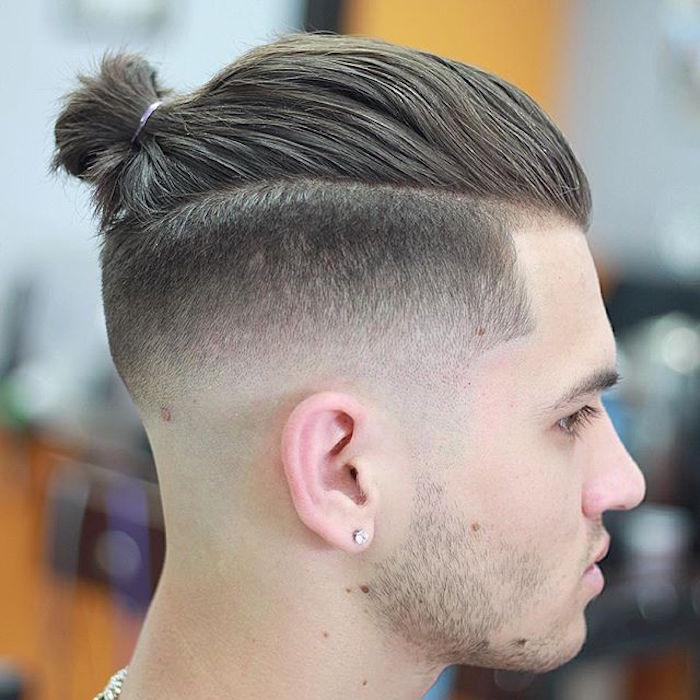 coupe de cheveux homme fade