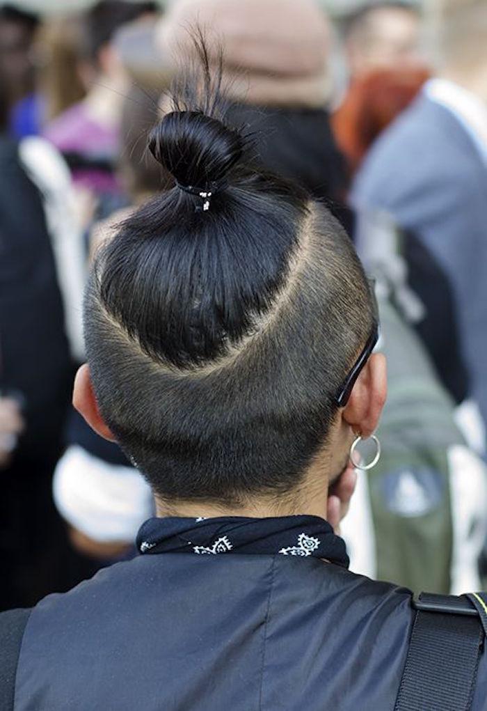 chignon-samourai-man-bun-undercut-ligne