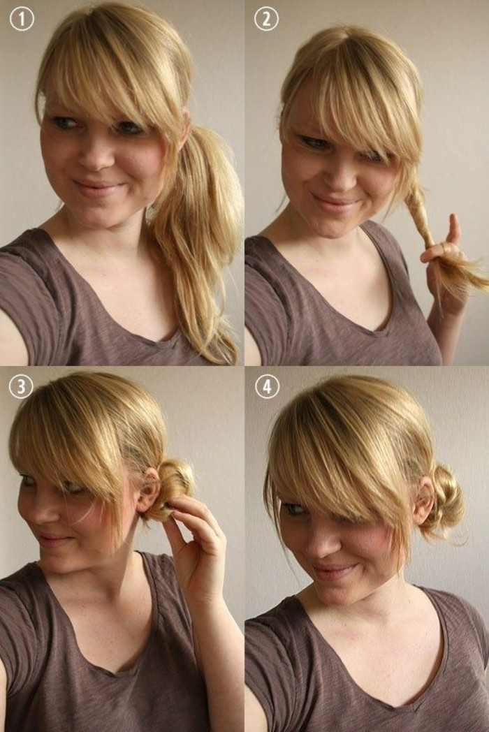 chignon-simple-a-partir-de-queue-laterale-chignon-de-cote