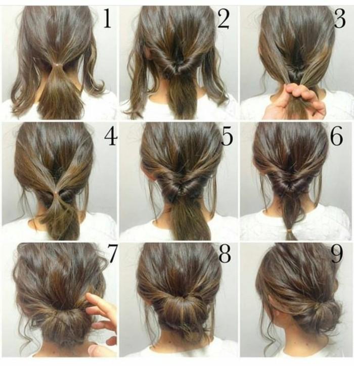 chignon-simple-coiffure-retro-romantique-chignon-original