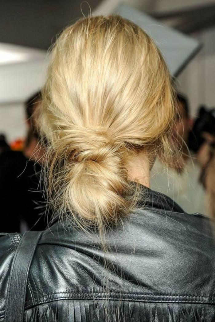 chignon-simple-idee-coiffure-de-soiree-facile