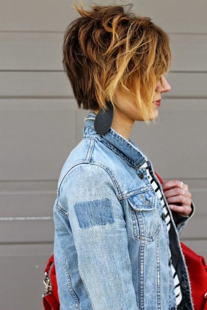 Coupe courte cheveux crepu