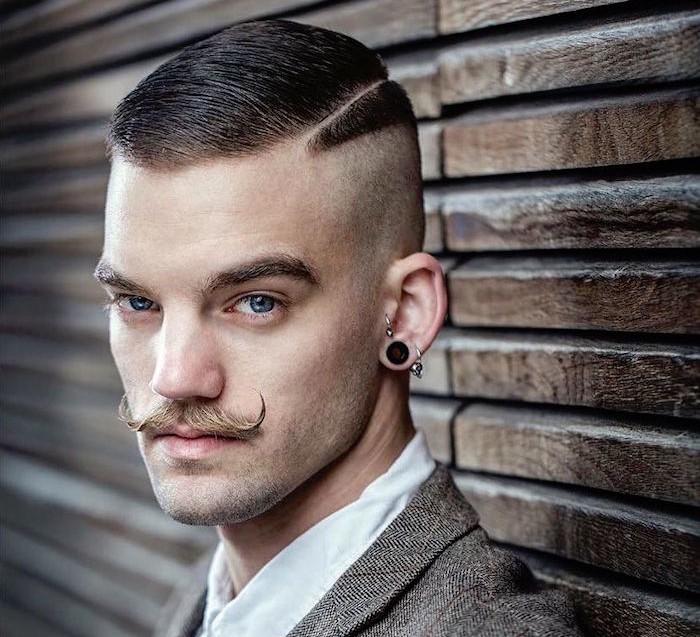 coupe de cheveux homme vintage