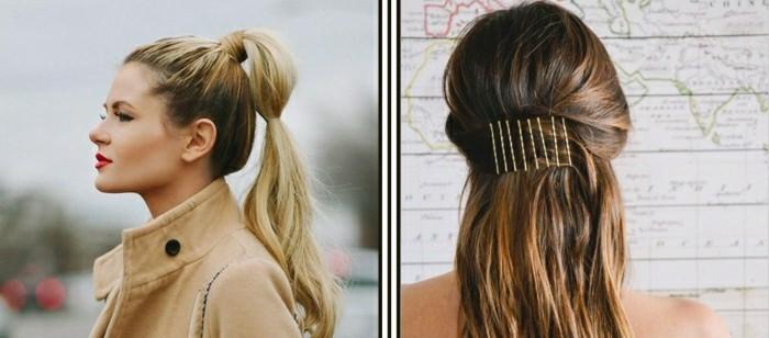 coiffure-simple-rapide-cheveux-longs-blonds