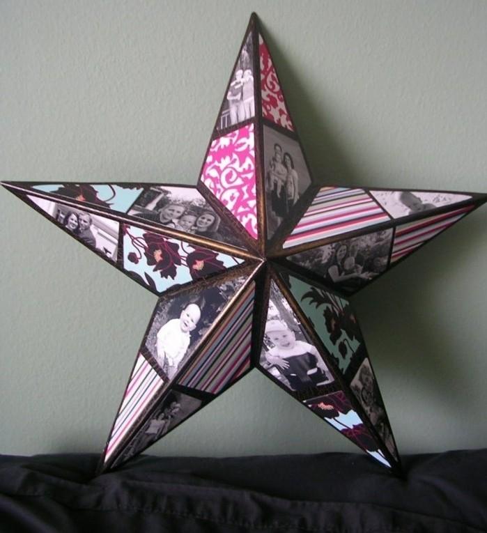 collage-de-photos-en-forme-d-etoile-une-idee-geniale-de-cadeau-fete-des-meres-a-fabriquer