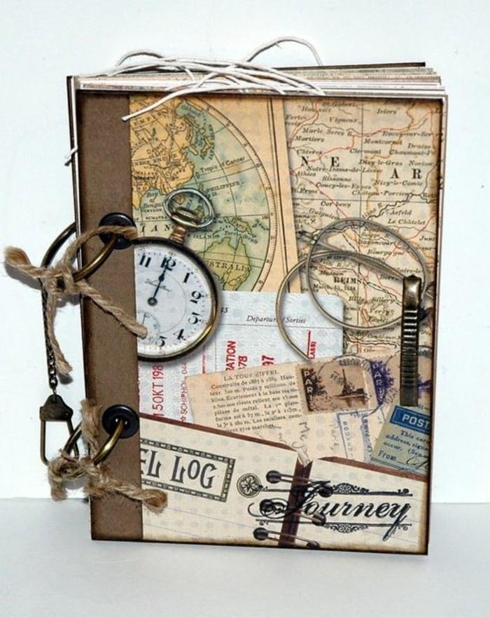 comment-faire-un-carnet-de-voyage-couverture-ficelle-horloge
