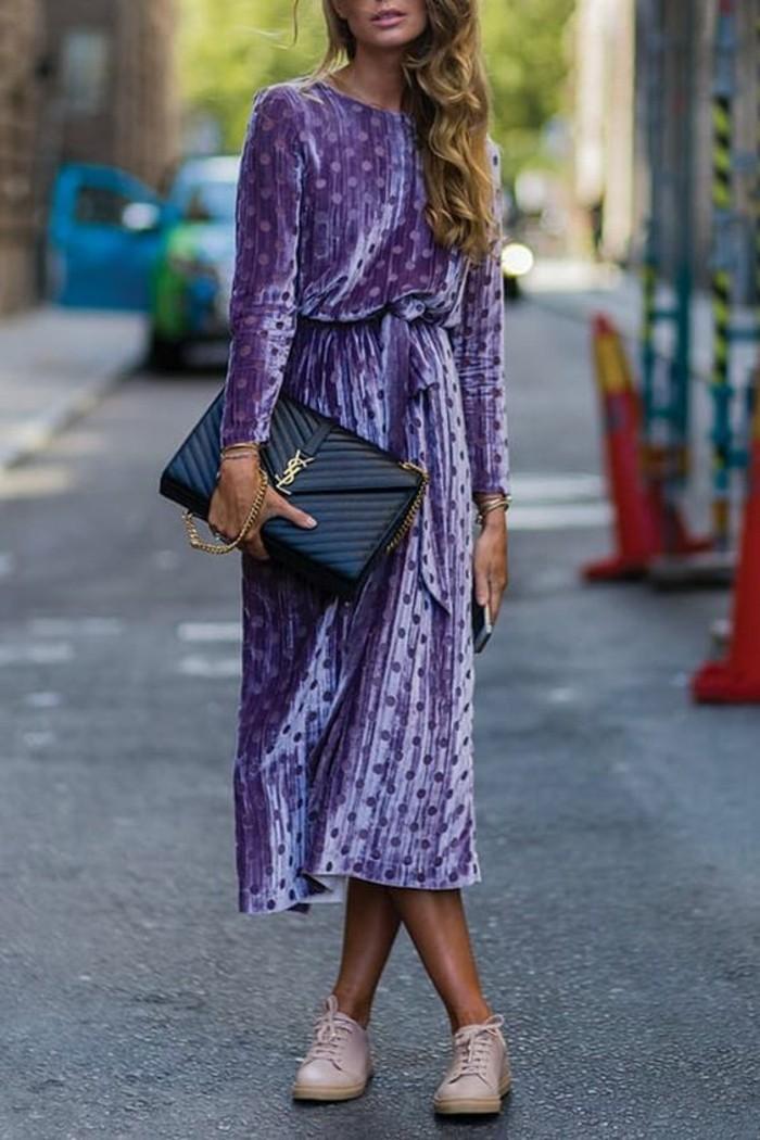 cool-robe-de-chambre-femme-velours-violet-claire-mi-longue-robe