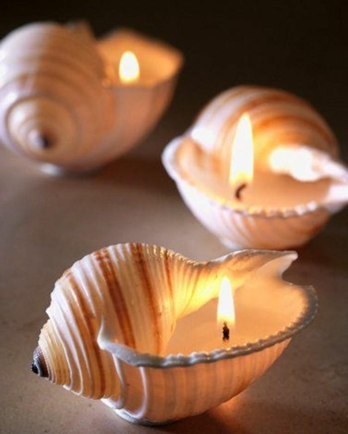 coquille-de-mer-en-guise-de-bougeoir-magnifique-idee-comment-faire-une-bougie-originale