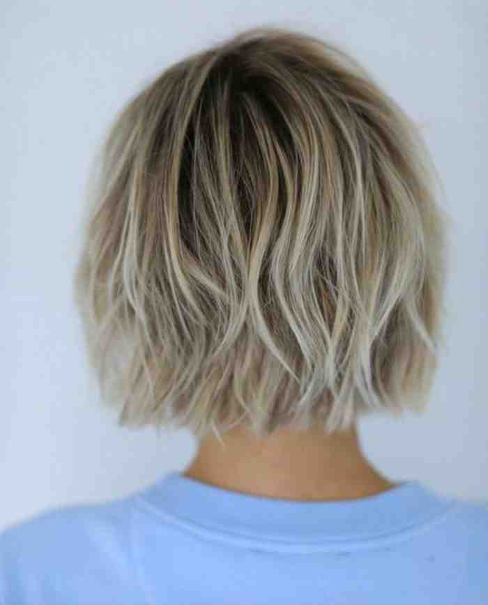 Coupe de cheveux degrade destructure