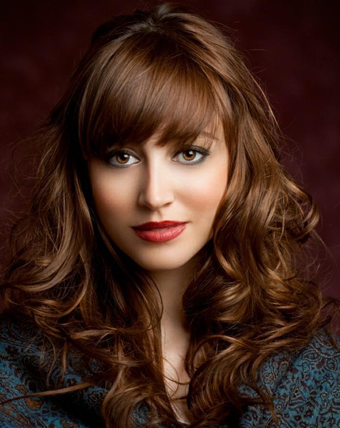 Fabuleux La coupe de cheveux longs pour femme - 70 idées en photos  GP22