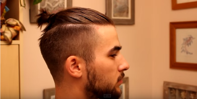 coupe cheveux long et rase homme