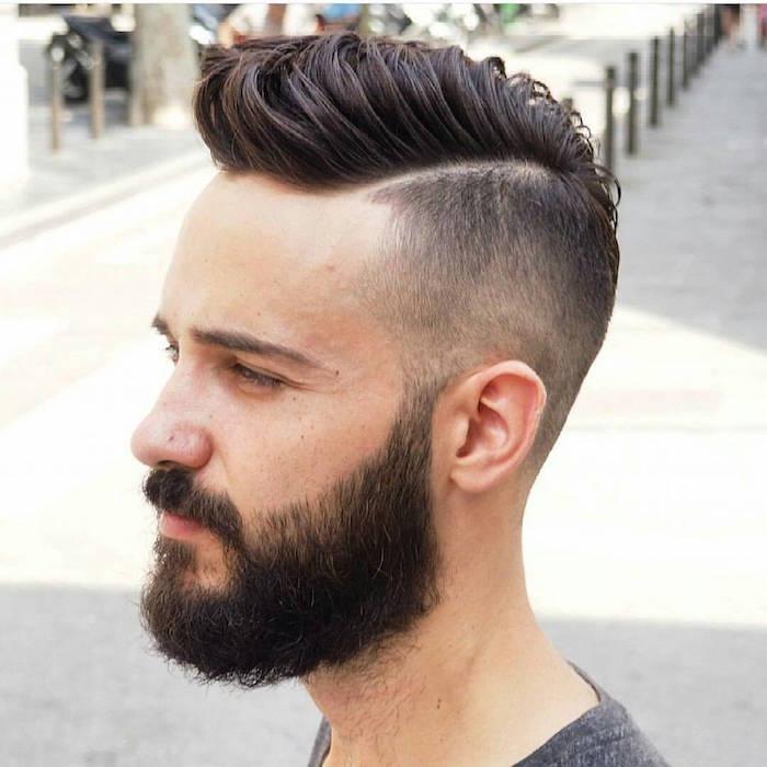 Coupe hipster le style pompadour et autres tendances en 50 id es - Coupe pompadour homme ...