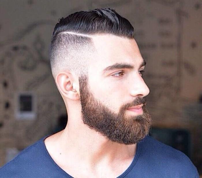 """Résultat de recherche d'images pour """"undercut homme barbe"""""""