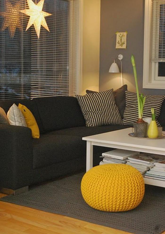Impressionnant Chambre Jaune Moutarde ~ Idées de Design Maison et ...