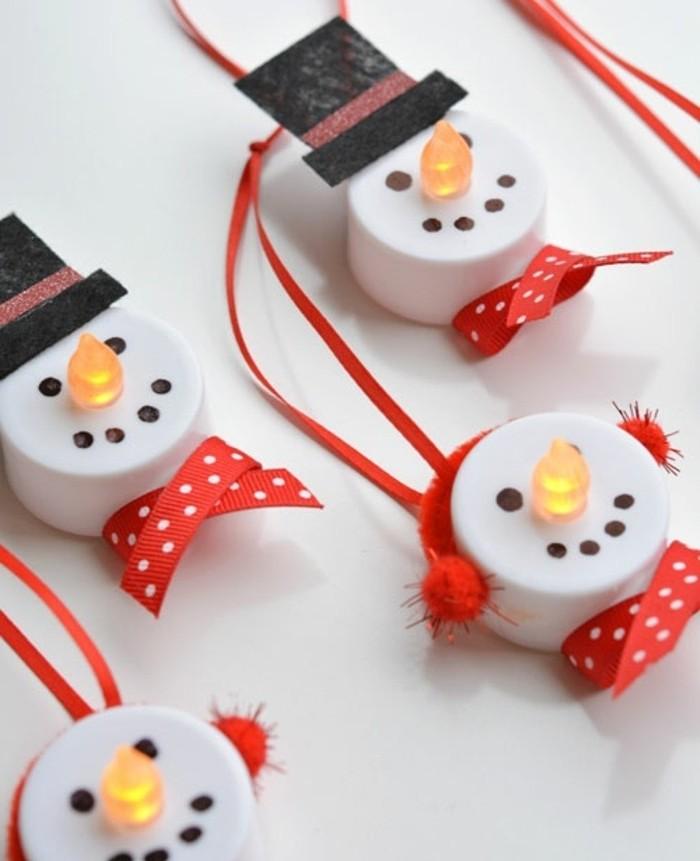 couvercle-de-bouteilles-decores-comme-des-bonhommes-de-neige-suggestion-tres-sympa-decoration-de-noel