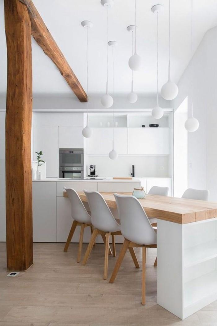 cuisine-blanche-chaise-en-plastique-blanc-ilot-de-cuisine-bois-meubles-blancs-chaises-blanches