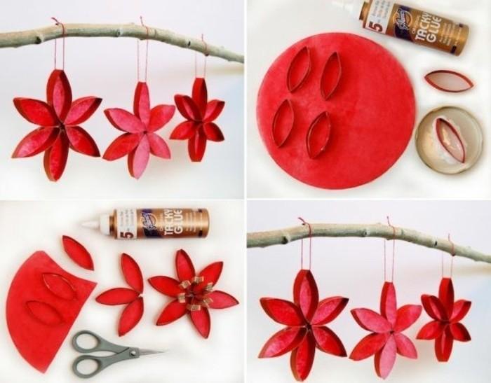 decoration-de-noel-a-fabriquer-petits-fleurs-rouges-superbe-deco-pour-noel