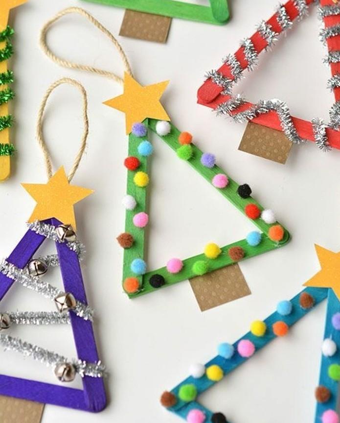 decoration-de-noel-a-fabriquer-petits-sapins-de-noel-decores-de-petits-ornements-deco-noel-a-fabriquer