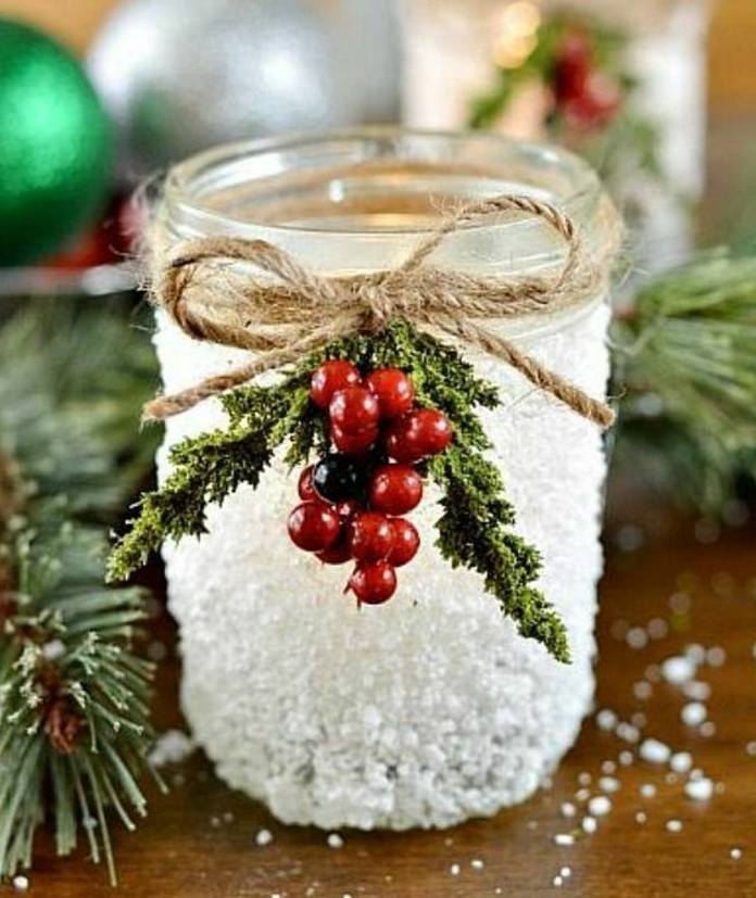 decoration-de-noel-a-fabriquer-suggestion-diy-pot-enneige-avec-une-decoration-charmante-suggestion-geniale