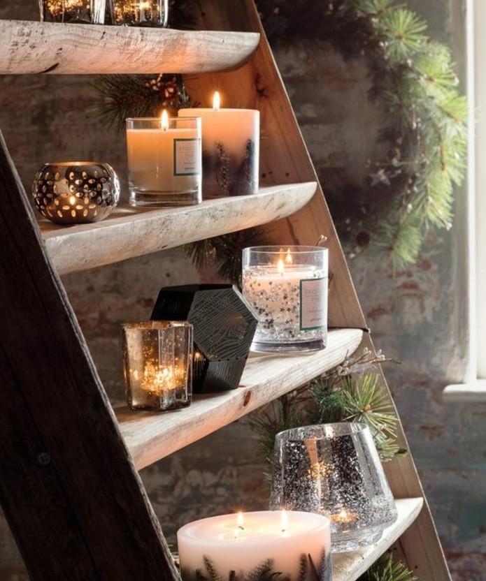 decon-noel-maison-composee-de-differents-types-de-bougies-decoratives-comment-fabriquer-des-bougies