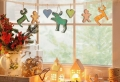 Décoration fenêtre Noël – 80 ambiances de conte de fée