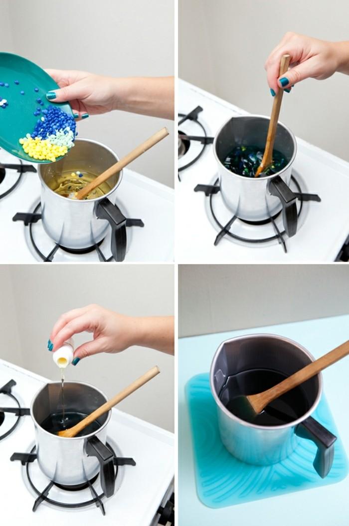 deuxieme-etape-du-projet-pour-fabriquer-des-bougies-ajouter-de-la-couleur-et-du-parfum-a-la-cire