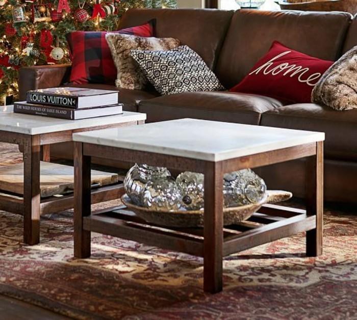 table basse en marbre 58 id es pour donner du style au salon. Black Bedroom Furniture Sets. Home Design Ideas