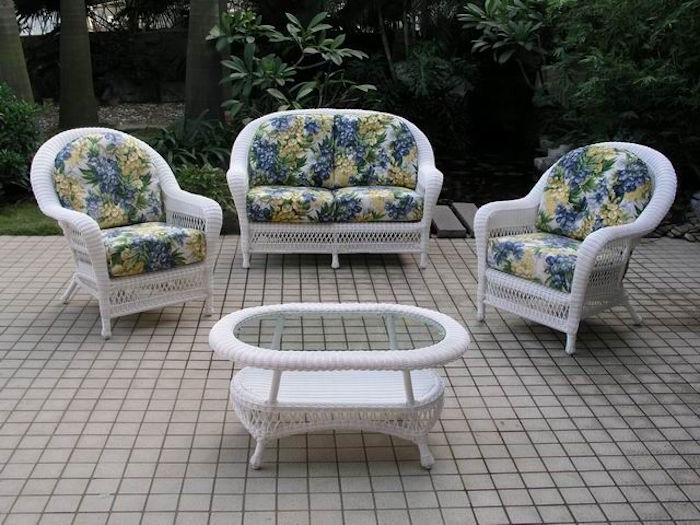 Awesome salon de jardin osier vintage pictures amazing house design - Chaise de jardin en solde ...