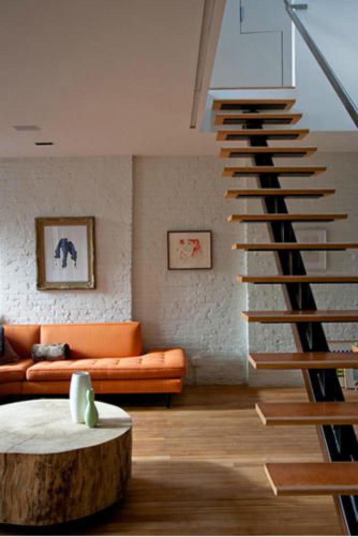 Stunning Escalier Ouvert Salon Photos - lalawgroup.us - lalawgroup.us