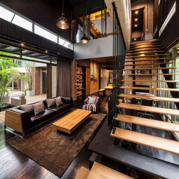 escalier-modulaire-maison-contemporaine-escalier-en-bois-et-acier