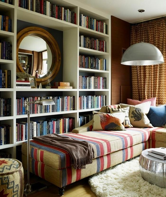 etagere-bibliotheque-tapis-moelleux-sofa-en-angle-tapis-blanc