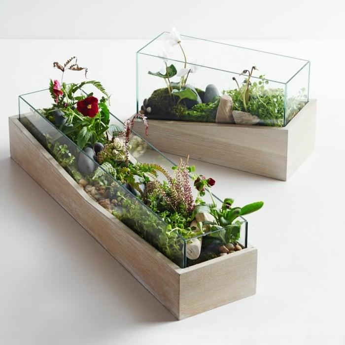 fabriquer-un-terrarium-en-verre-et-bois-magnifique-idee-comment-decorer-son-interieur-de-maniere-naturelle