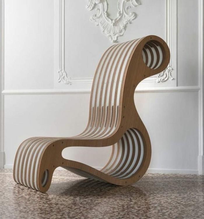Meuble en carton 60 id es que vous pouvez r aliser vous for Comment fabriquer un fauteuil