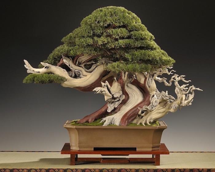 fleur artificiel bonsai artificiel faux arbre végétal plastique deco interieur pot