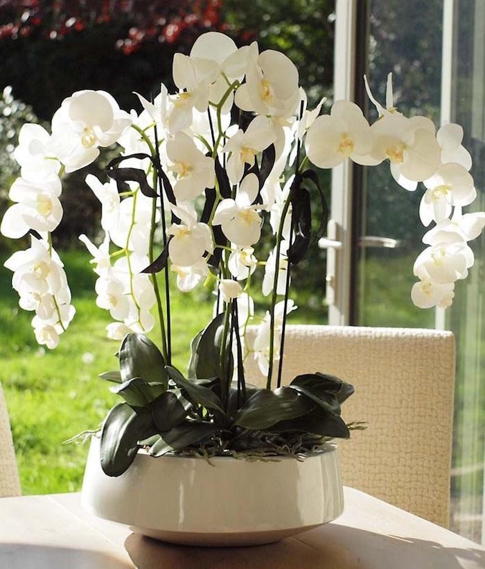 fleurs-artificielles-orchidee-artificielle-plante-artificielle-blanche