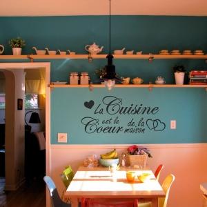 La cuisine au cœur de votre maison - stickers de cuisine charmants