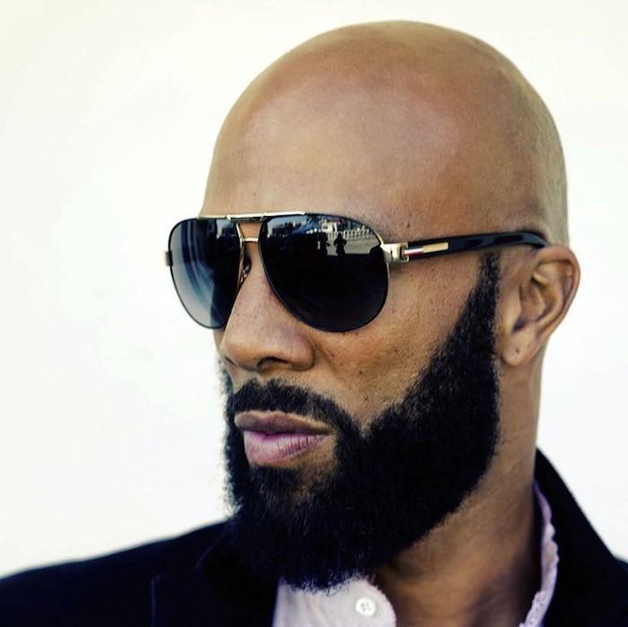 homme-noir-chauve-common-sense-barbe-calvitie-precoce-alopedie-androgenetique