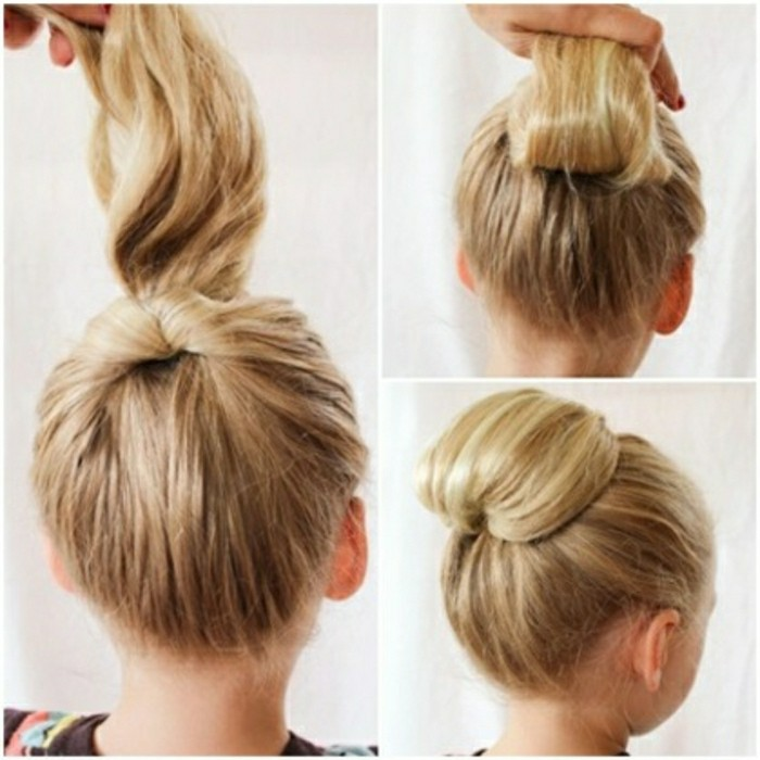 idee-de-coiffure-simple-et-rapide-chignon