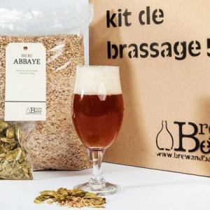 Kit de brassage pour faire son bière à la maison - cadeau de Noël pour homme