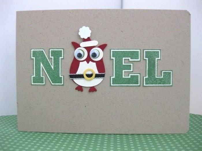 idee-diy-carte-de-noel-a-faire-soi-meme-avec-un-hibou-en-papier-mignon-suggestion-tres-originale