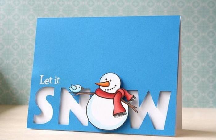 idee-geniale-de-carte-de-voeux-personnalisee-avec-un-bonhomme-de-neige-sympa