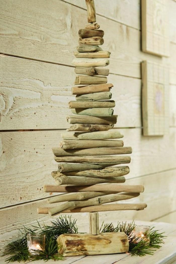 idee-magnifique-comment-fabriquer-un-sapin-de-noel-design-en-bois-flotte-modele-simple-et-naturel