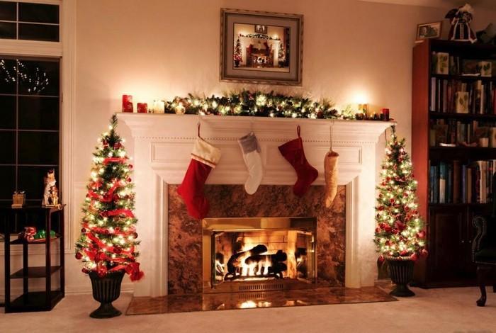 jolie-chamber-guirlande-lumineuse-decorative-noel-votre-maison-salle ...
