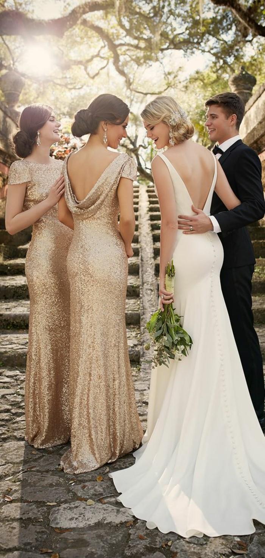 La robe de mariée simple et élégante - 70 photos pour choisir la ...