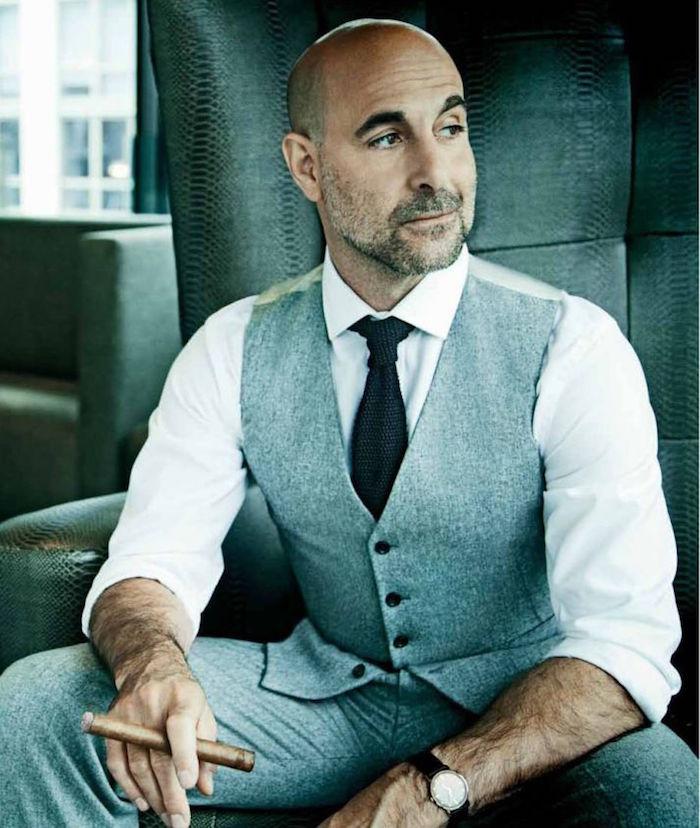 Calvitie homme style 40 exemples pour les futurs chauves for Perte de cheveux homme