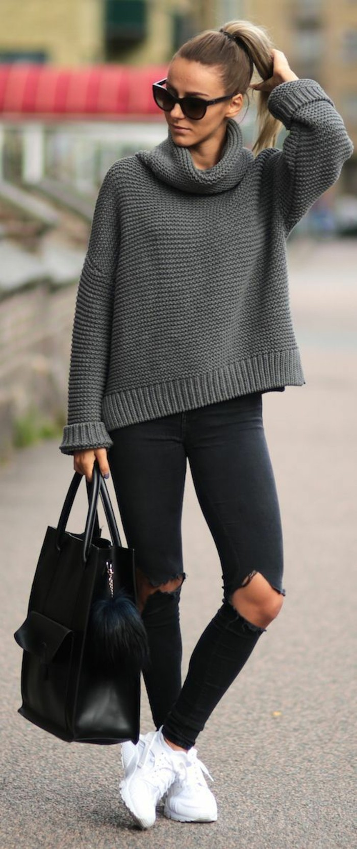 large-pull-grosse-maille-jean-troue