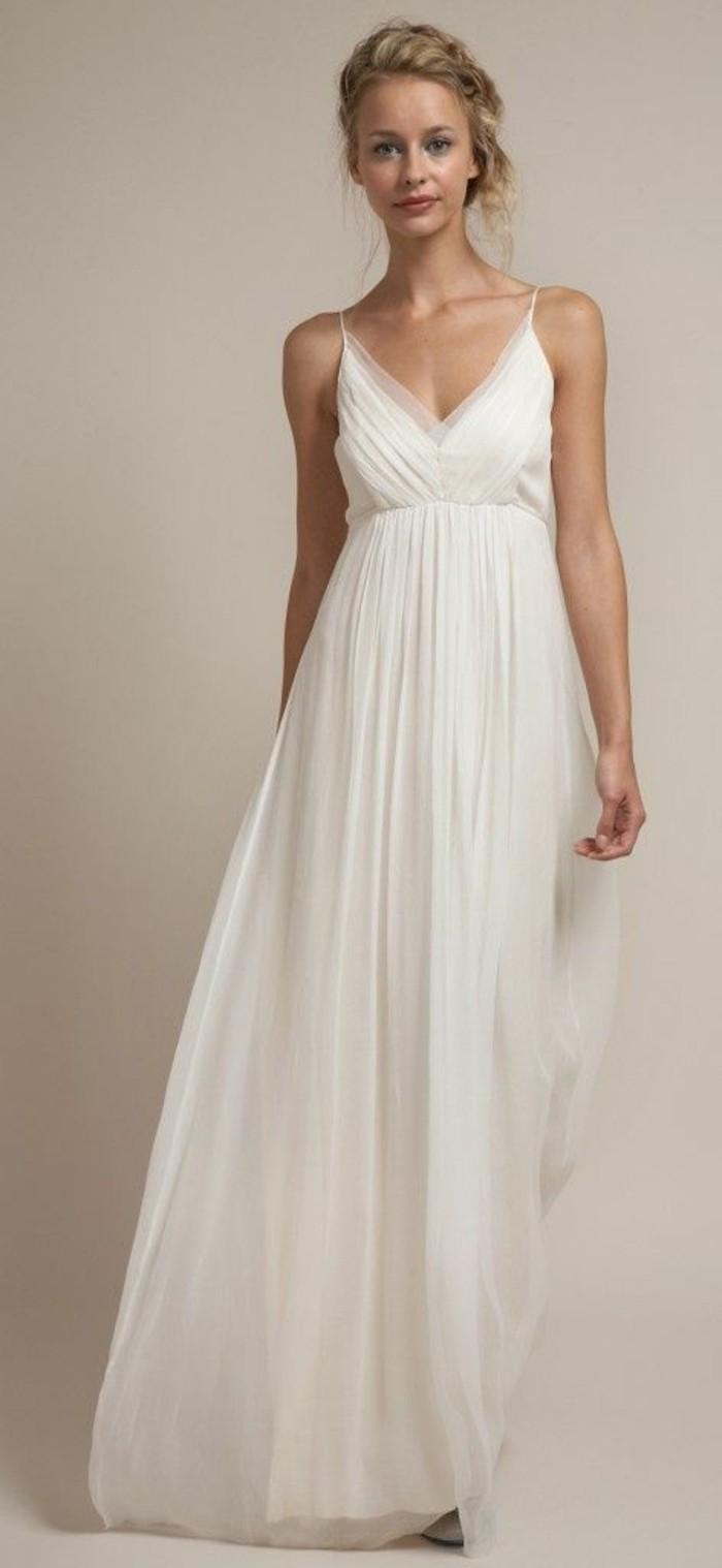 les-robe-de-mariee-simple-et-pas-cher-mariage-blonde-coiffure-mariage