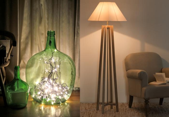 magnifique-idee-pour-la-fete-avec-guirlande-noel-lumineuse-eclairage-dans-grande-vase