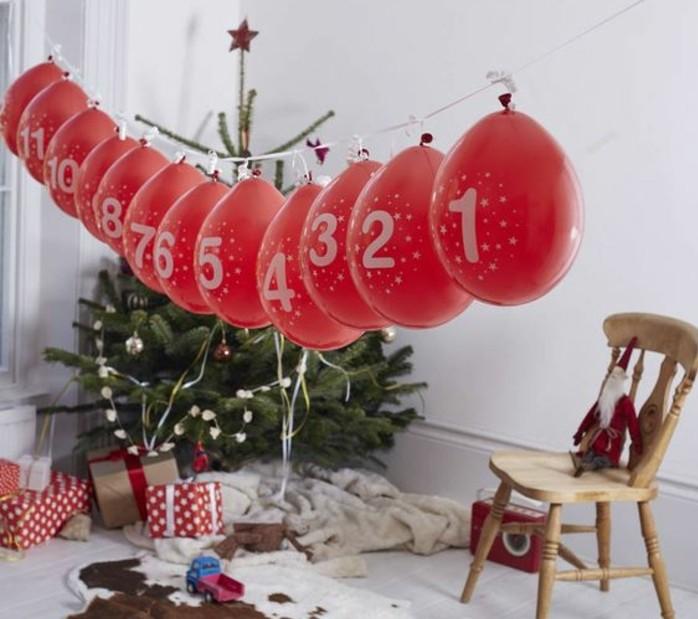 magnifique-idee-calendrier-de-l-avent-a-fabriquer-soi-meme-ballons-rouges-numerotes